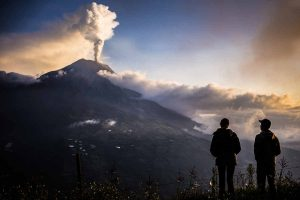 Tungurahua erupción