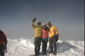 cayambe escalada cumbre