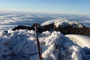 Cotopaxi escalada crater