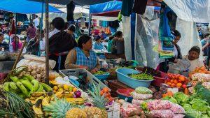 mercado indigena de Otavalo