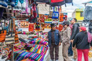mercado indigena de saquisili
